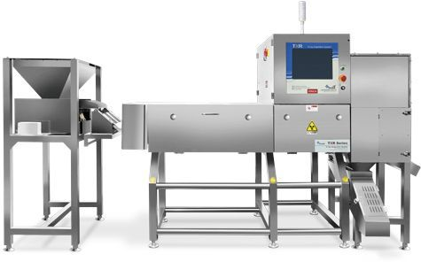 High Configuration X-ray Inspection System for Product in Bulk